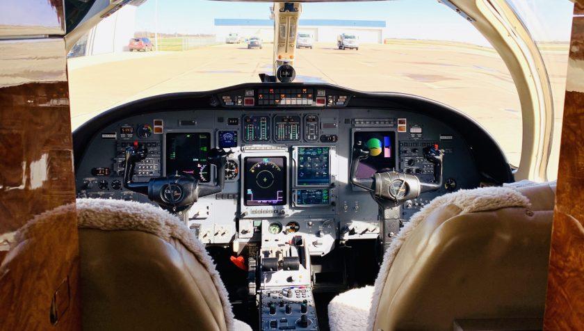 Citation Bravo 895 - Interior - Panel 1