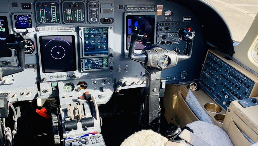 Citation Bravo 895 - Interior - Panel 2