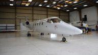 Lear 55 N855NC - Front 3