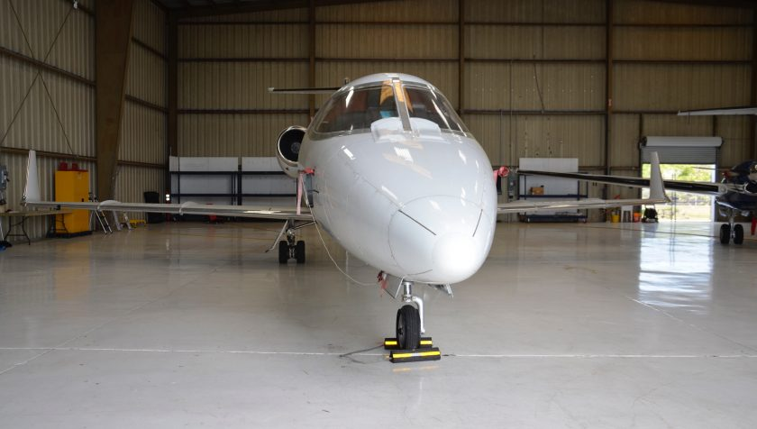 Lear 55 N855NC - Nose 3