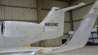 Lear 55 N855NC - Tail 1