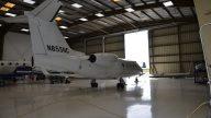 Lear 55 N855NC - Tail 2