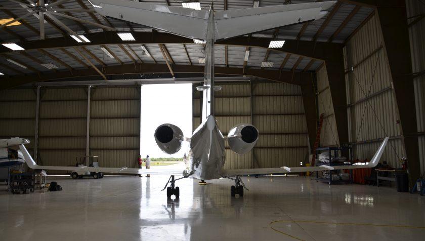 Lear 55 N855NC - Tail 3